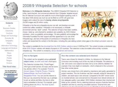 wikipedia-for-schools