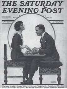 te 1st time Fitzgerald's name appeared on the cover of the magazine