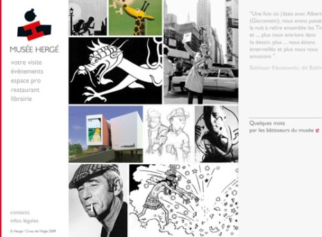 HergeMuseum-Homepage