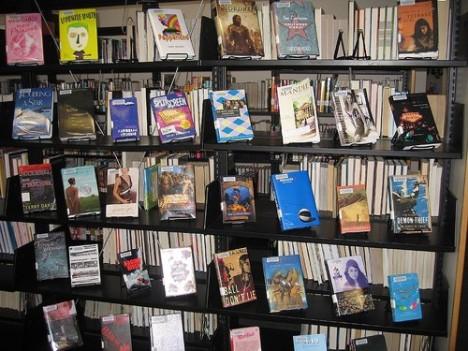 YA books display