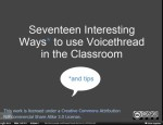 17 ways to use Voicethread