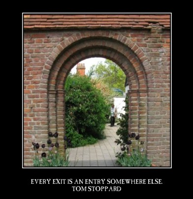 Every exit is an entrance (sml)