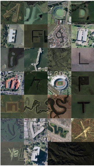 Alphabet using GoogleMaps