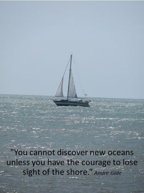 Discover new oceans-quote